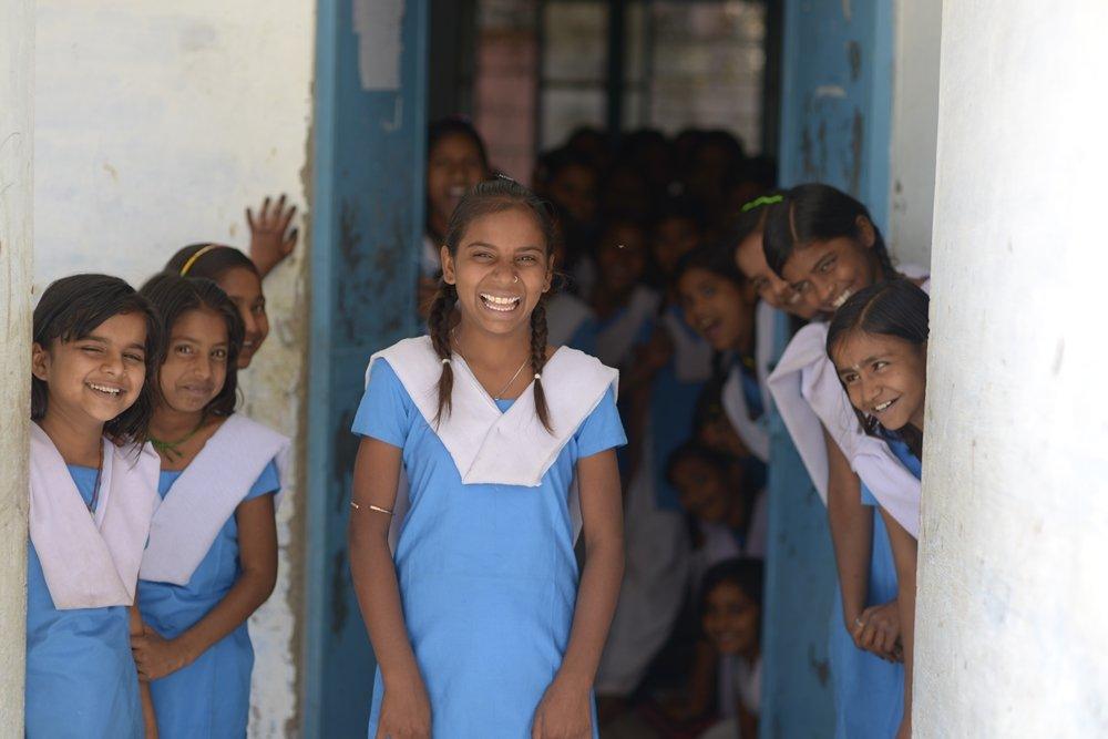 Now, Suhani is enrolled in school!