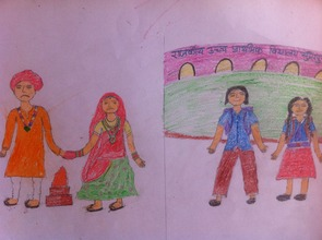 Gauri's drawing