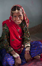 Meena - despite being a child bride is educated