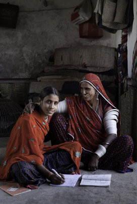 Improving learning levels for girls in Rajasthan