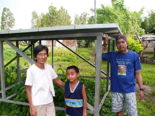 Nanay Belen proud of the solar panels