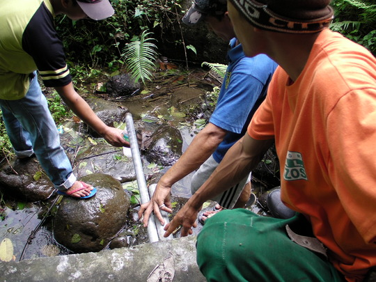 Water source of Paang Bundok