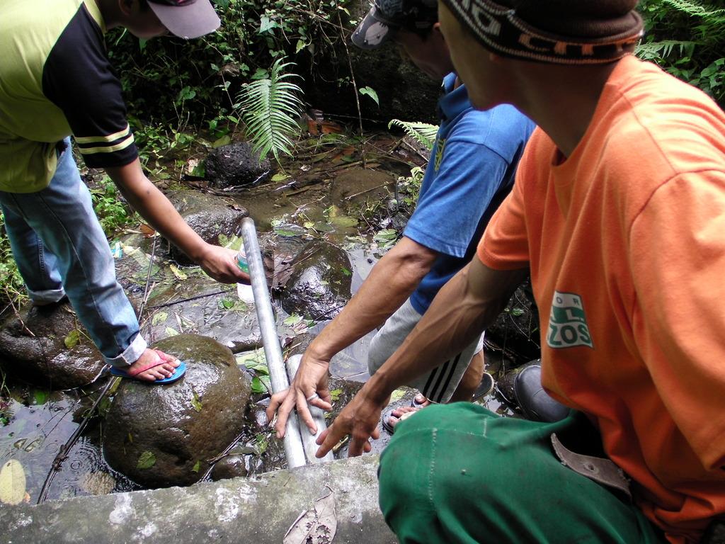Water source of Paang Bundok