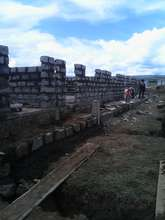 Walls going up!