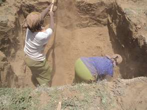 Digging of Foundation Trenches