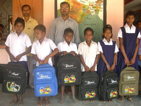 Sending 200 Tribal Children to  School in India