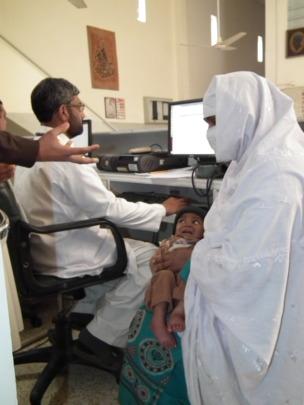 Patient at registration