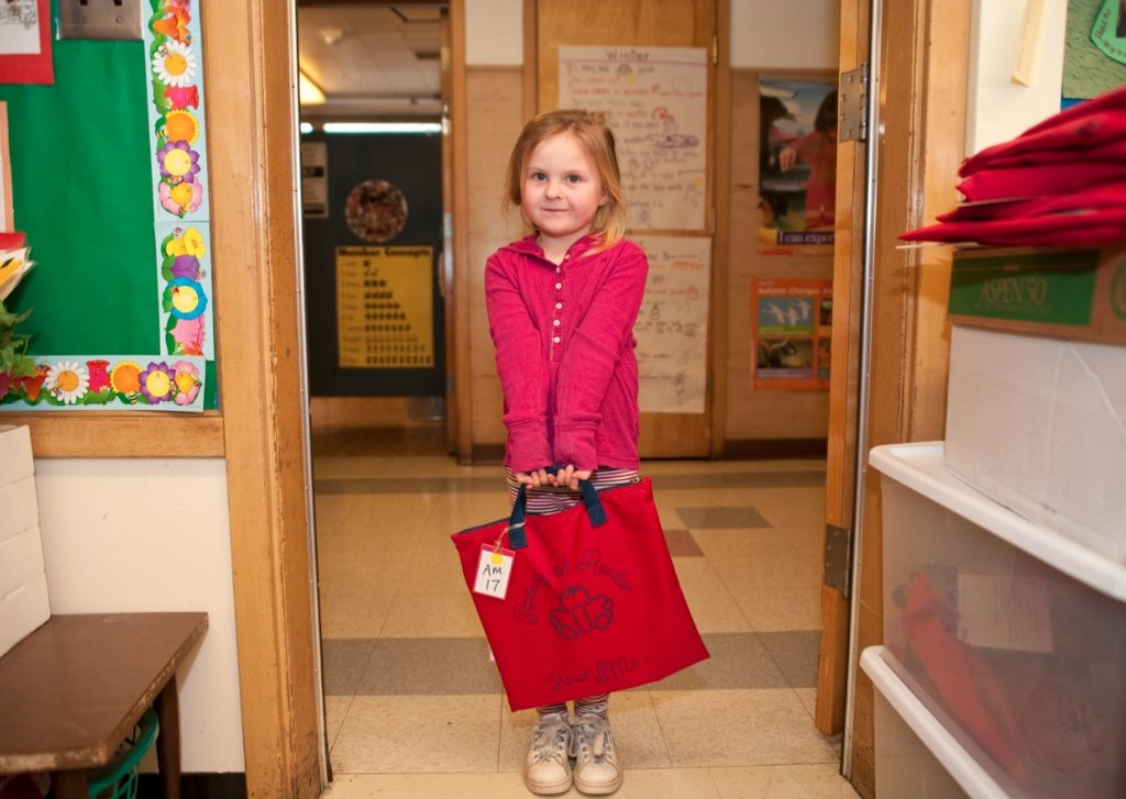 Raising A Reader in school