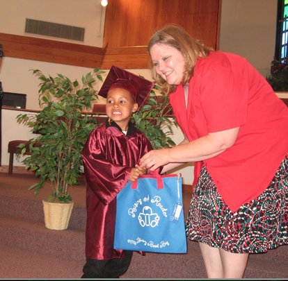 A Raising A Reader graduate