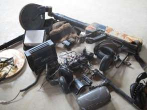 Equipment Confiscated from the OWR
