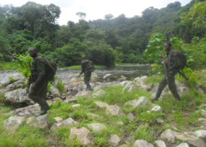 ICCN Rangers on patrol
