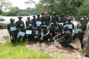 New ICCN rangers after intensive training