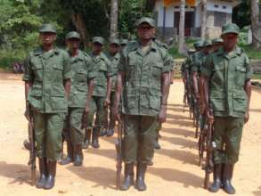 New Rangers in Epulu