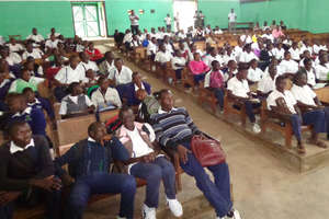 Student Conservation Conference in Bunia