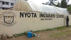 Repainting the walls and sign