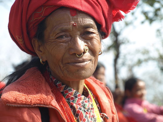 Dolakha women's group member