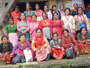 An ETC women's group in Dolakha