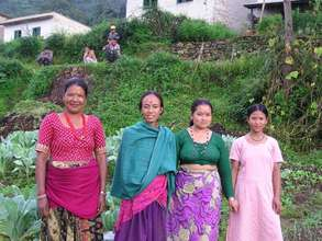 Nepalese women thank you for your support!