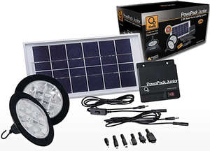 One of Our Solar Home-Lighting Products