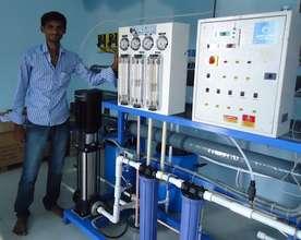 Chaitanya, entrepreneur & operator in Mahabubuabad