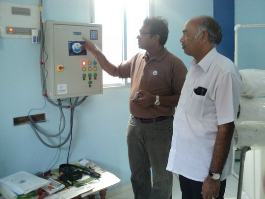 Operating training for local management