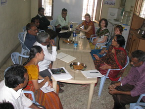 Merck and Safe Water Network staff in India