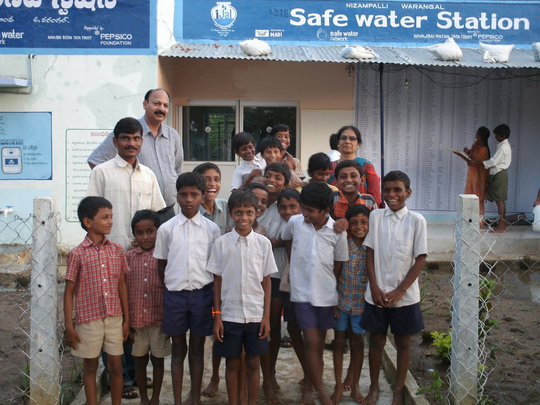 First Water Purification Kiosk in India