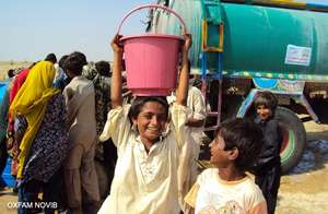 Oxfam providing immediate relief in Pakistan