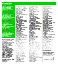 2011-2012 Contributors