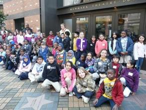 Students from Rosa Parks Elementary