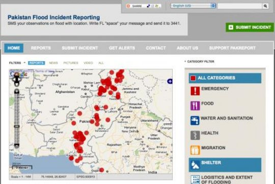 PakReport.org {Pakistan Flood Incident Reporting}