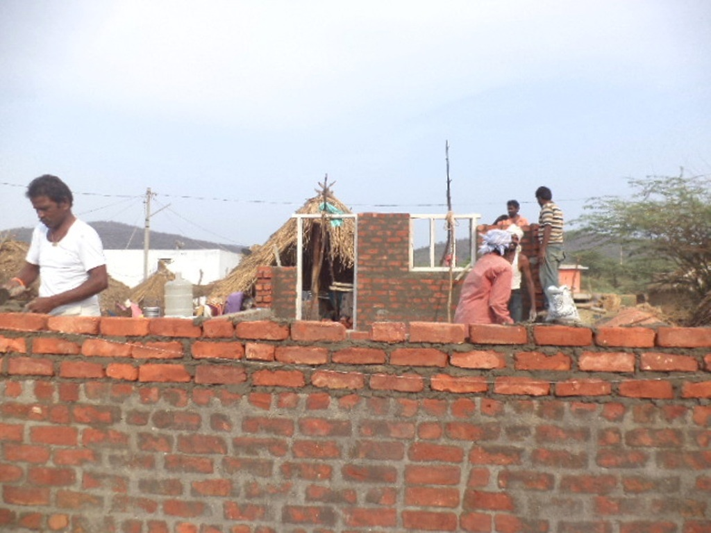 House is being built