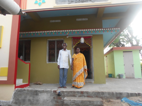 House completed with Sanitation