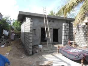 Front room construction