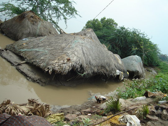 Provide housing for 298 flood victims in India