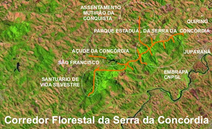 Forest Corridor project. The Sierra has 3 rural comunities and 3