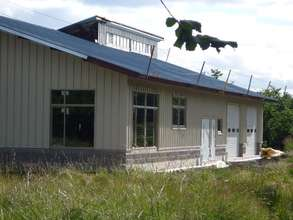 North side of new shelter