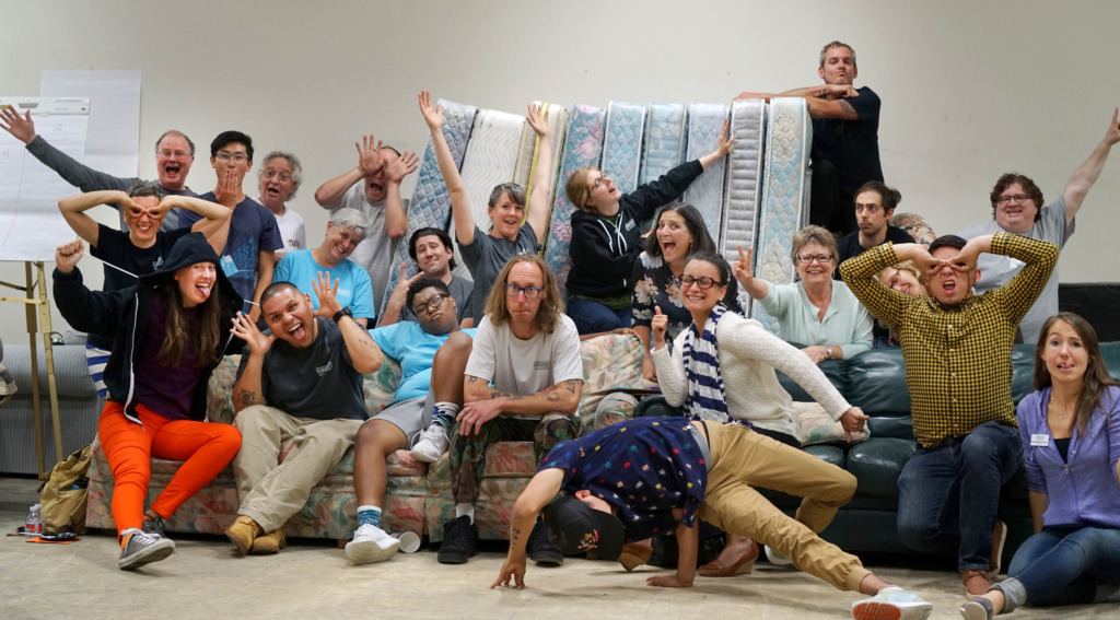 From our goofy faces to you, the staff say THANKS!