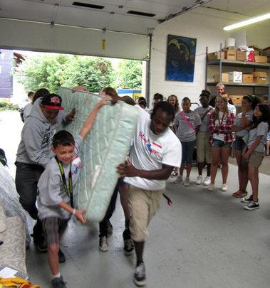 Mattress Donations at the Warehouse