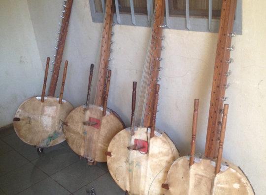 Koras that needed repairs