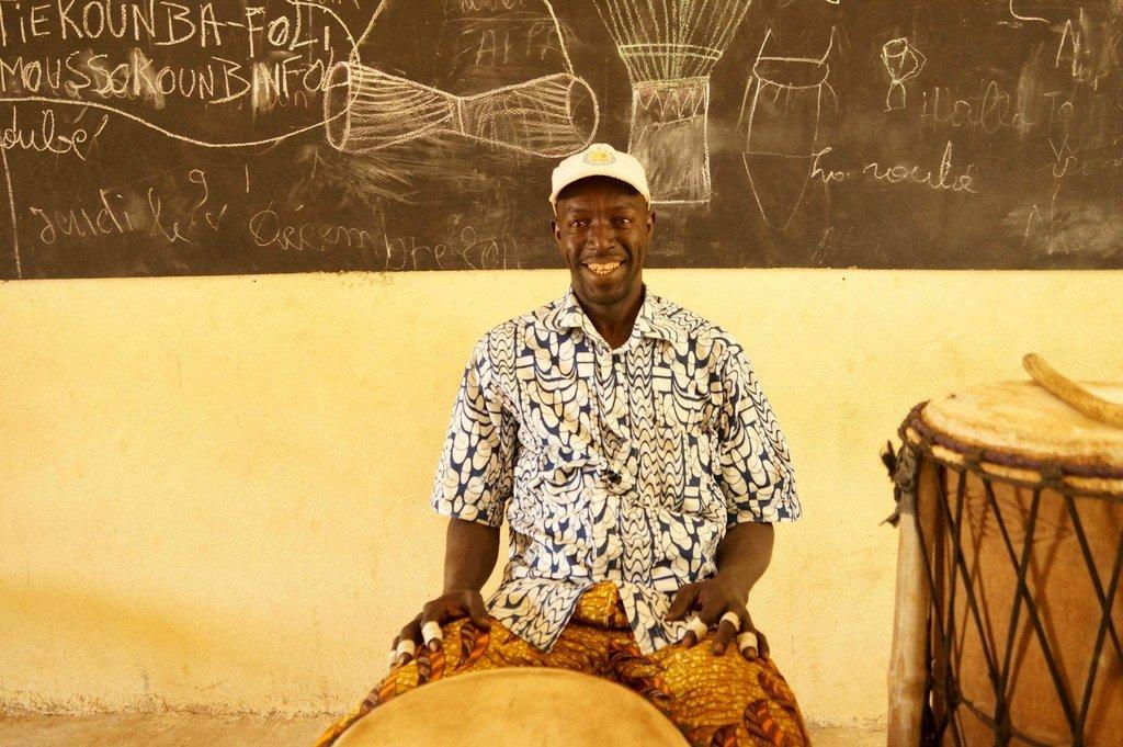 Percussion Teacher, Seydou Kone