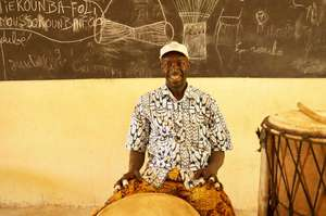 Percussion Teacher, Seydou Kone