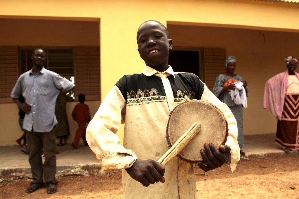 Provide Music Education to Children in Mali
