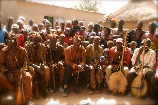 Musicians and Hunters in Kirina