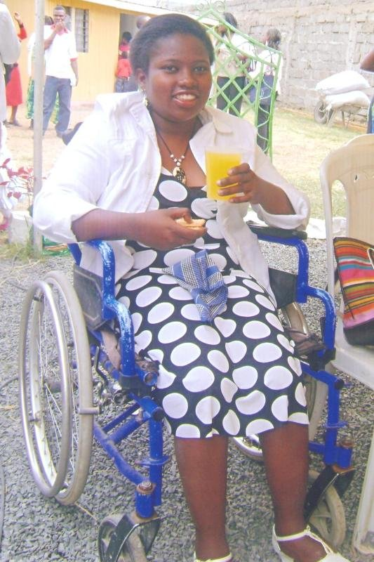 support 200 Disabled Girls with Sanitary Towels