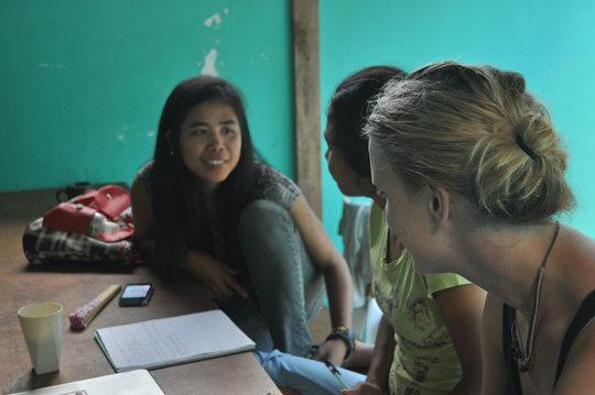 Youth leaders & international volunteers
