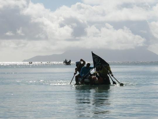 Raft Race for Rupees in full swing