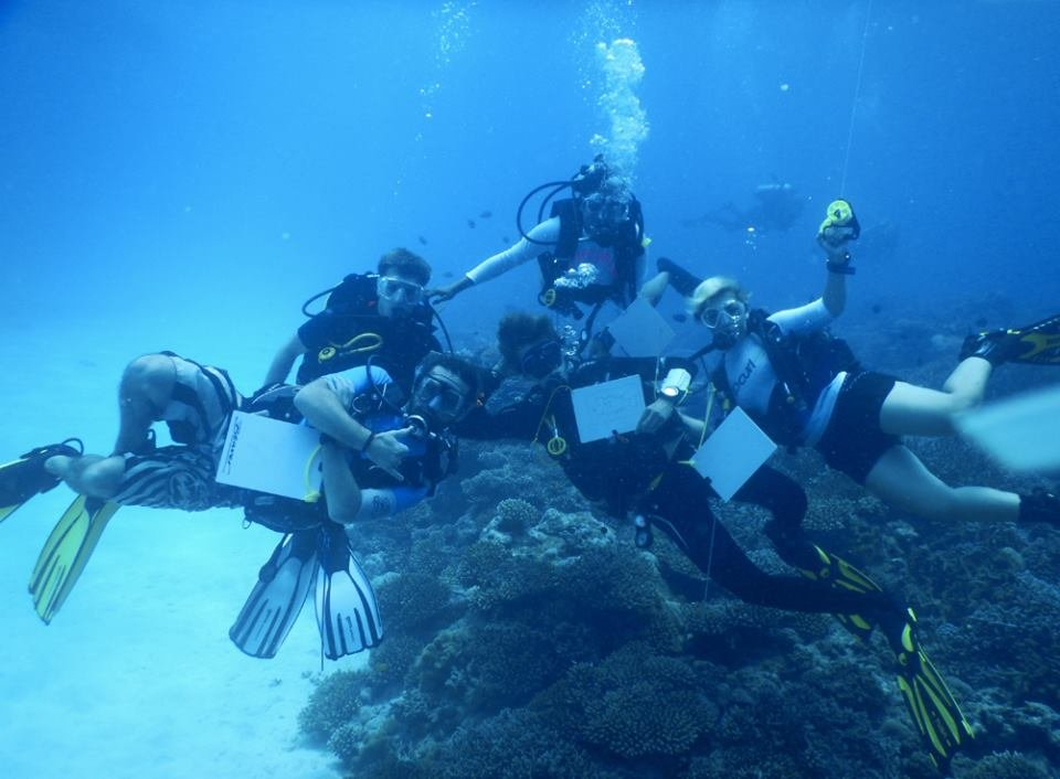 Finding our underwater treasure