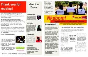 Children of Ghana first magazine! (PDF)