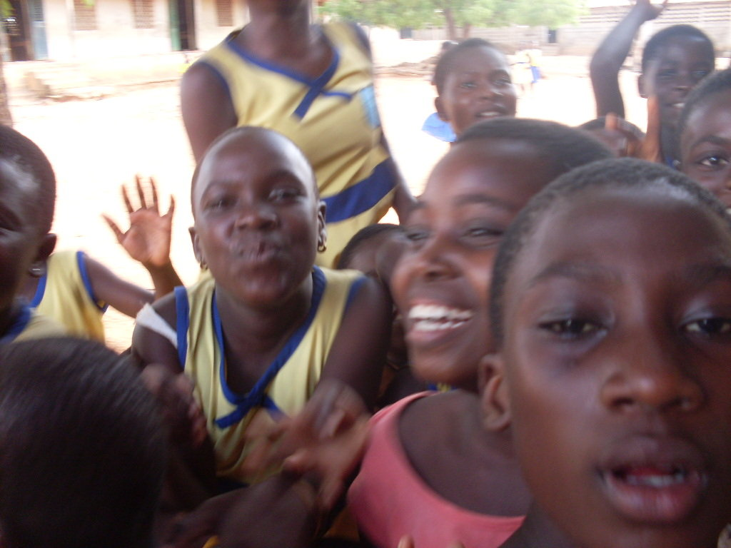 The Children at Gbawe Methodist School